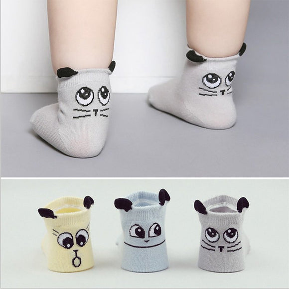 Infant Cartoon Socks
