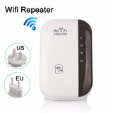 WiFi Repeater - Improve Your Wireless Signal Strength Without Having to Move a Computer or Router