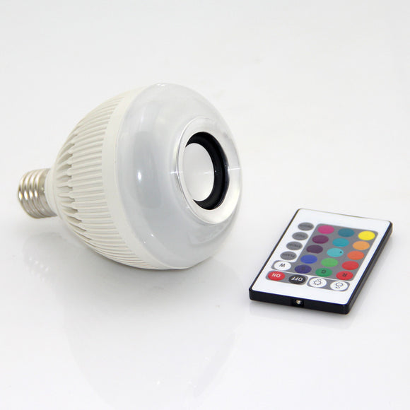 Wireless Bluetooth Light bulb Speaker - SHIPS WORLDWIDE