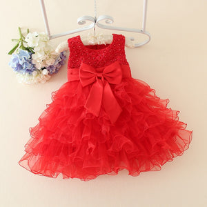 BABY GIRL'S HOT LACE FLOWER DRESS