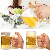 Foam Generating Beer Mug