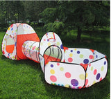 Crawl and foldable baby tent