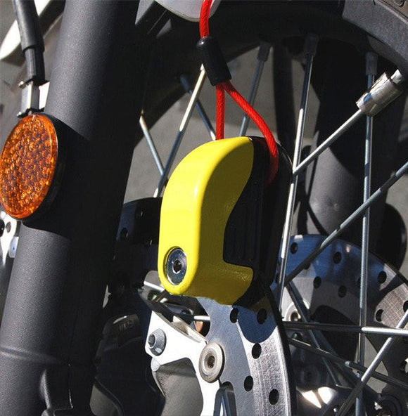 Anti-Theft Bike Disc Lock Alarm (60% OFF TODAY)