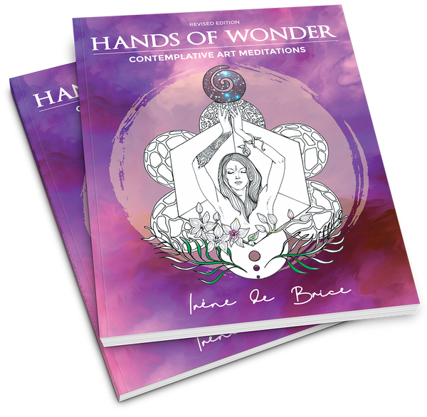 Creative Alchemy with Hands of Wonder author, artist and self healer Irene de Brice