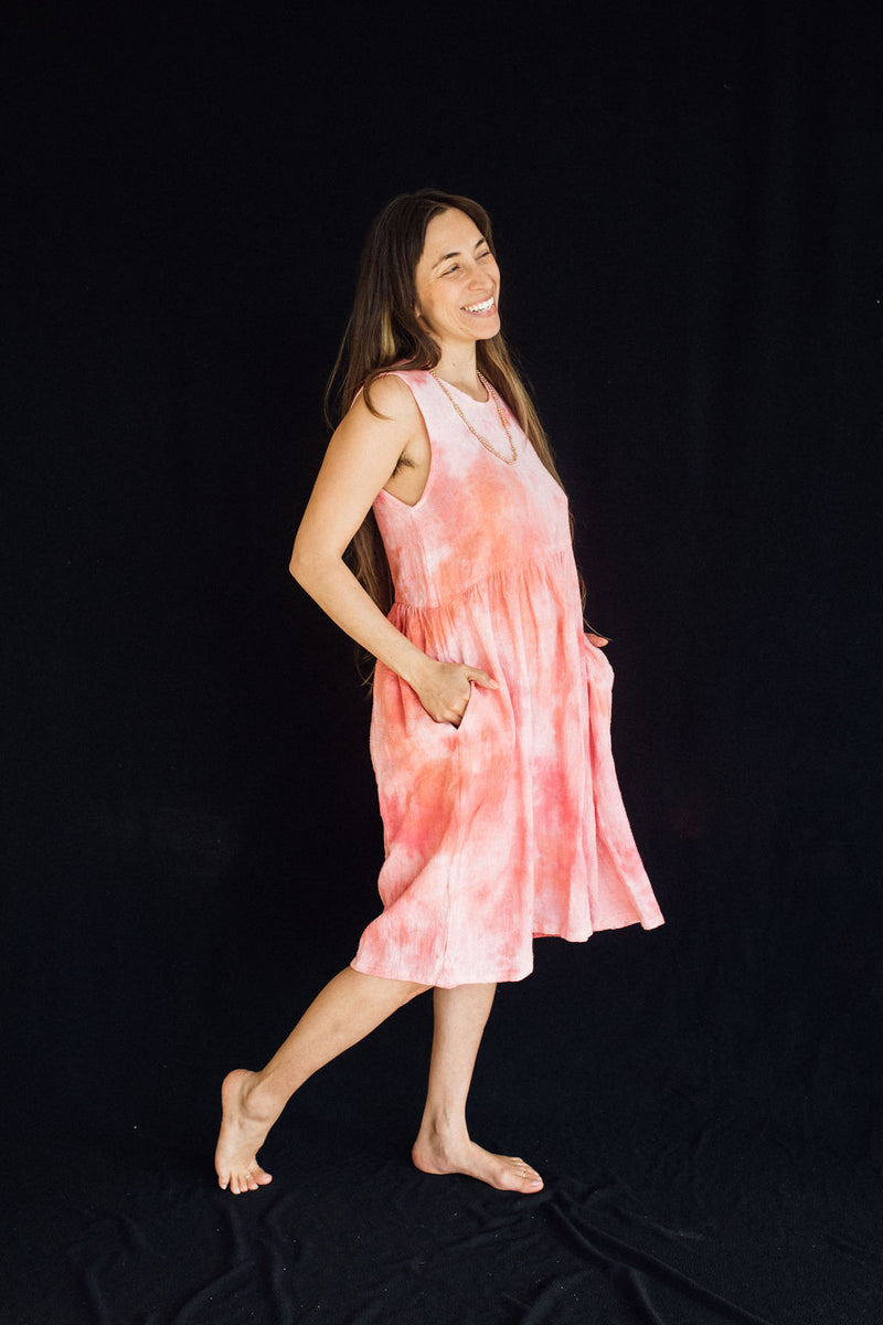 Pink Sky Bloom Gown