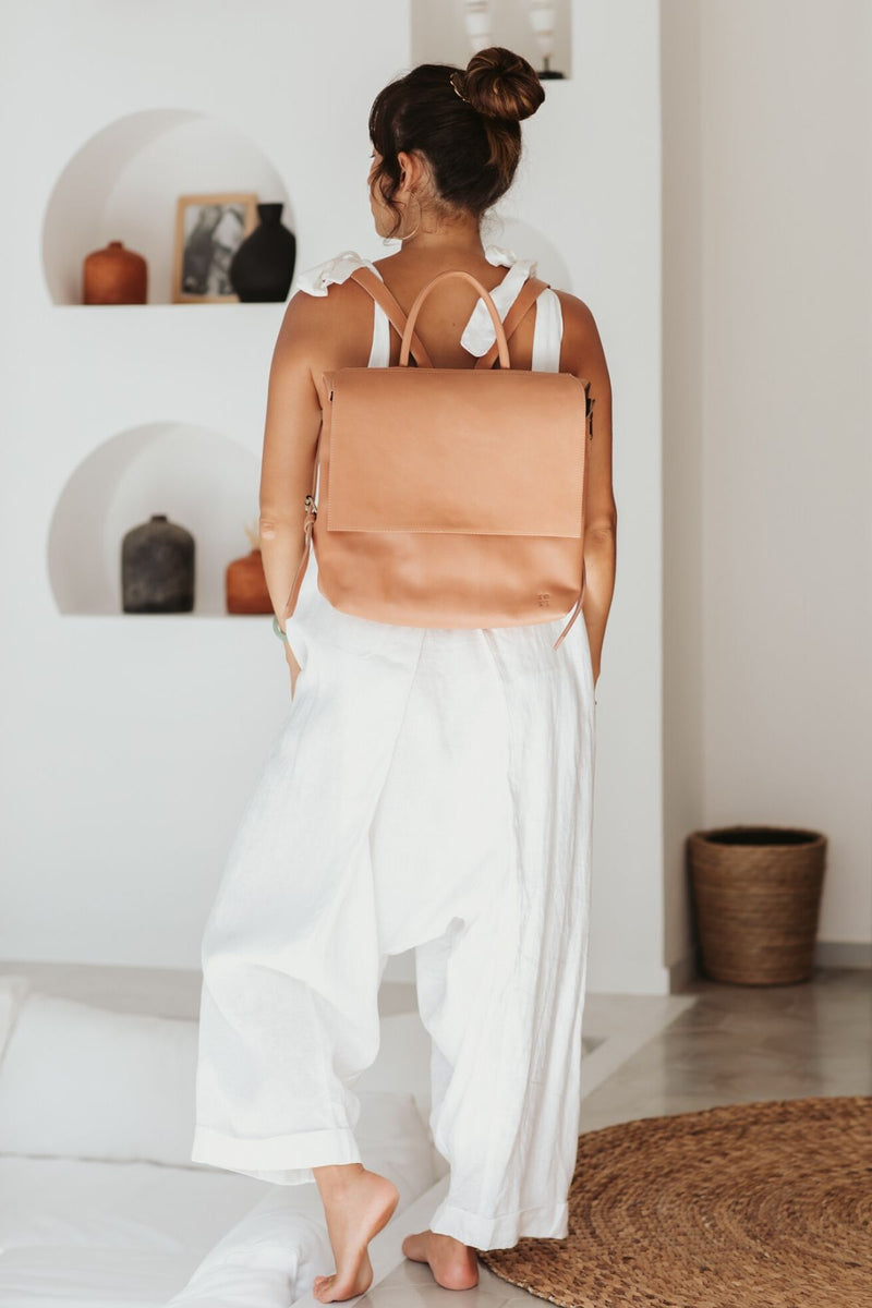 Tori Bag (100% Untreated Leather, Pre-Order allow 2 weeks)