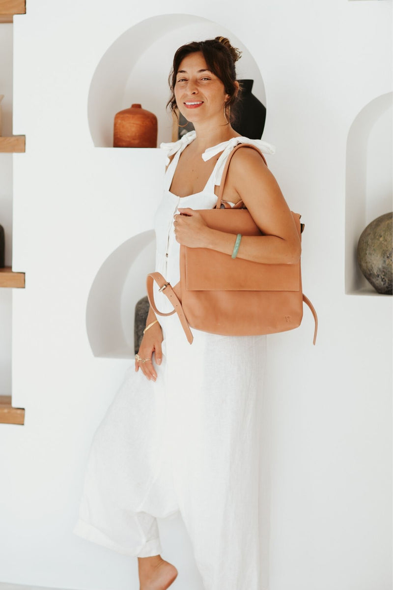 Tori Bag (100% Untreated Leather, Pre-Order)