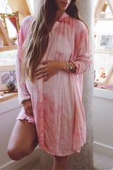 Pink Sky Kundalini Gown *Short Edition*