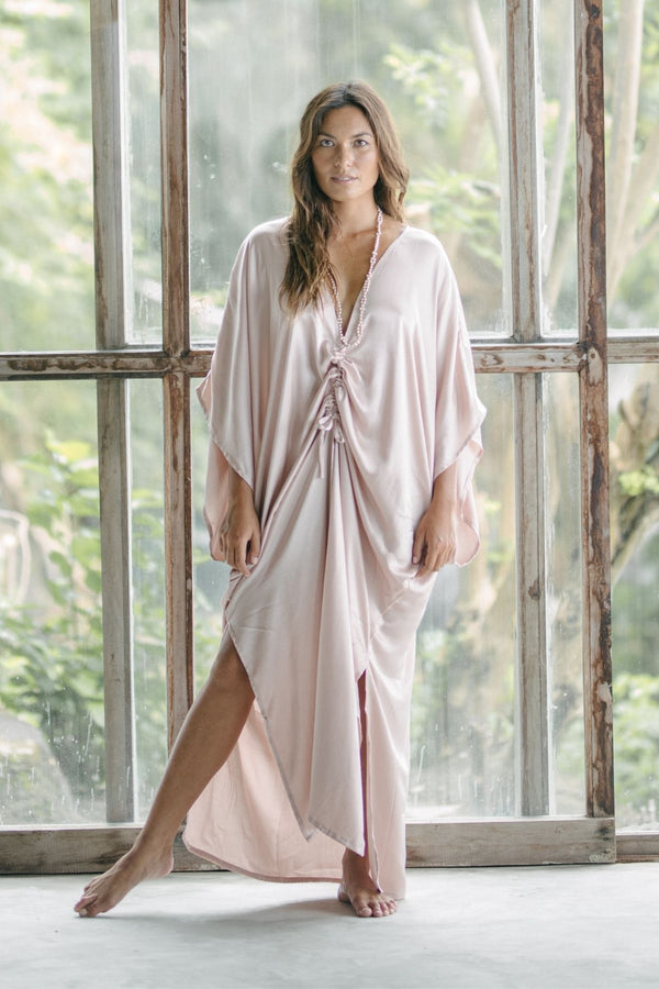 Virgo Kaftan Silk/Satin