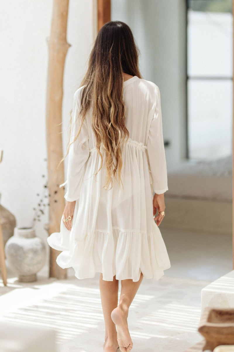 Kundalini Gown - La Tierra Flax Edition (Pre-Order, ships within 2 weeks)