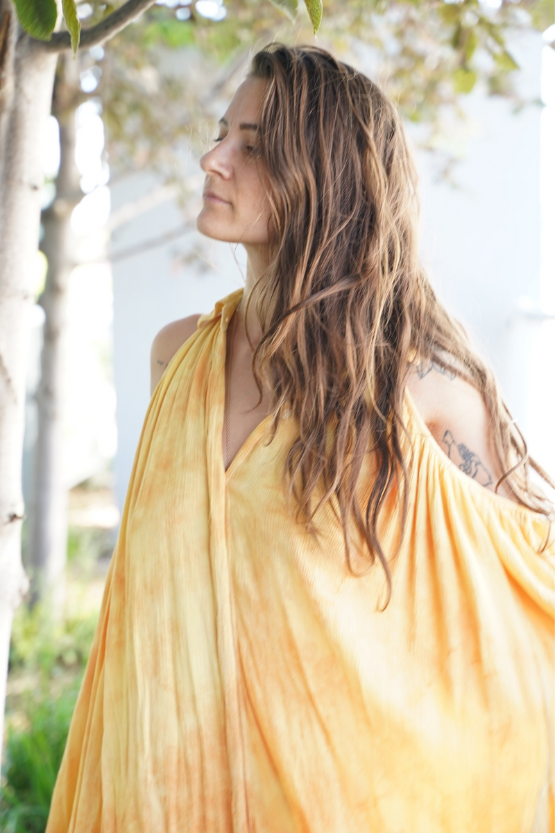 Lakshmi Gown - Canary Island Summer Edition (One of a kind)