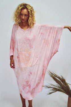 Pink Sky Aura Gown