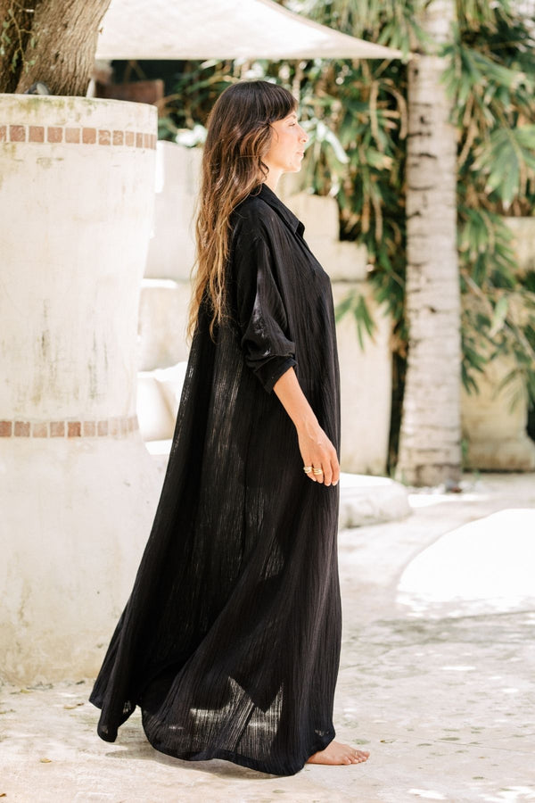 Dark Moon Kundalini Gown (Linen Luxe, Limited Edition)