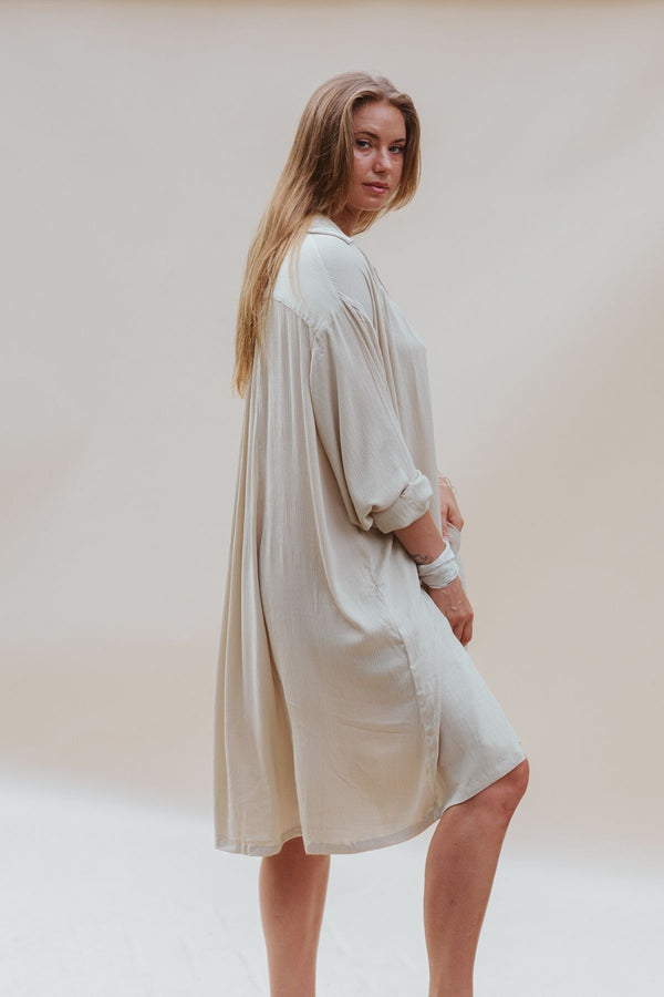La Tierra Edition Kundalini Gown Short (100% Bamboo Rayon, Pre-Order)