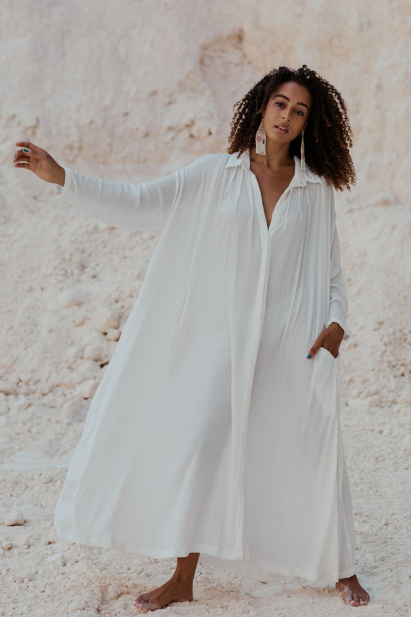 Kundalini Gown Original - Seashell Edition (Pre-Order, ships within 2 weeks)