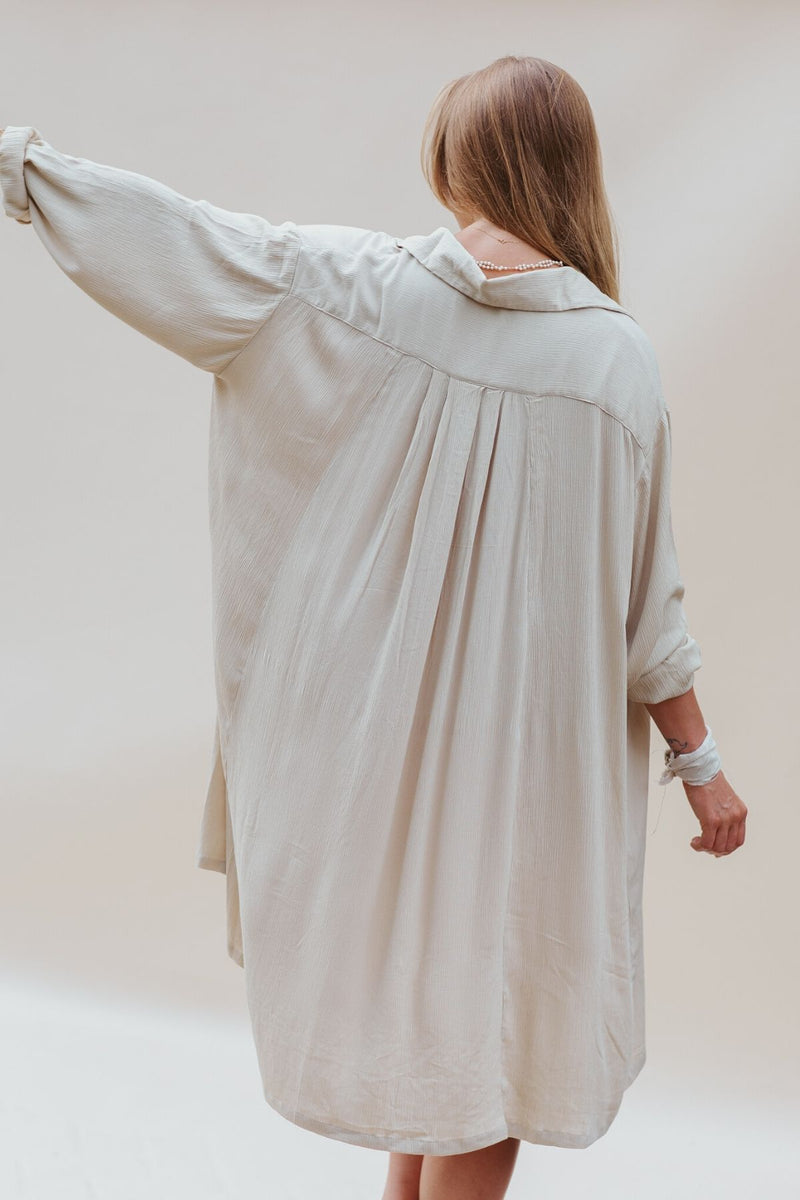 Kundalini Gown Short *La Tierra  Bamboo Rayon Edition* (Pre-Order Sale, Ships within 2 weeks)