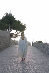 White Sand Grace Set  (Grace Jacket + Kundalini Playsuit, Pre-Order Allow 2 Weeks)