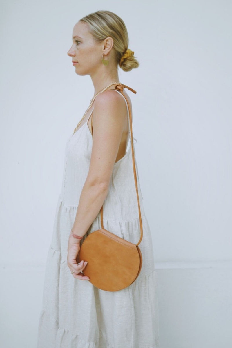 New Moon Bag - Tan