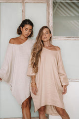 Butterfly Tunic (Light Raw Linen or Clay)