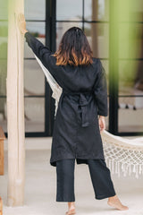 Infinity Jacket + Grace Linen Pants Set (100% Linen, Multiple Colors Available, PRE-ORDER)