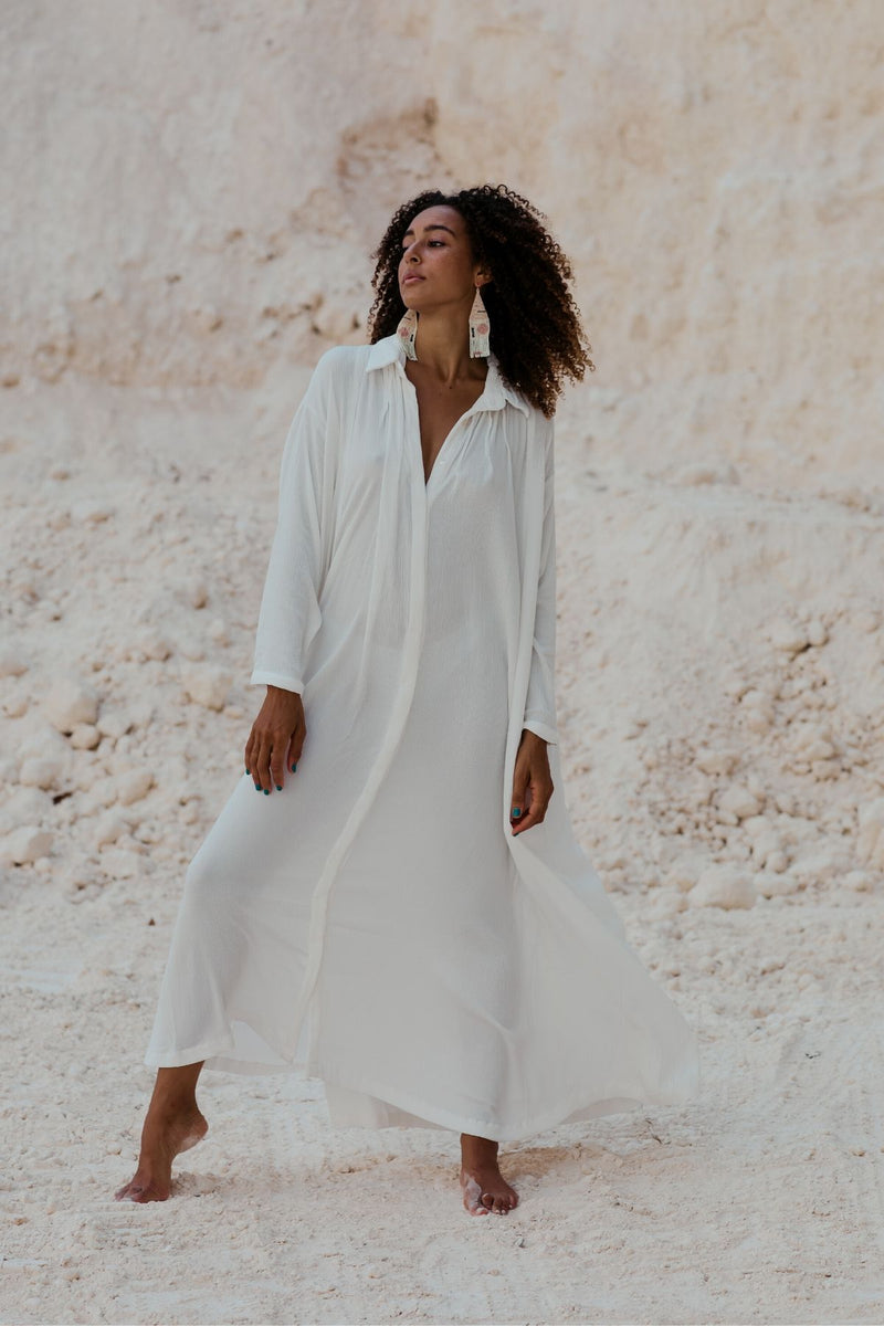 Seashell Edition Kundalini Gown (100% Bamboo Rayon, Pre-Order)