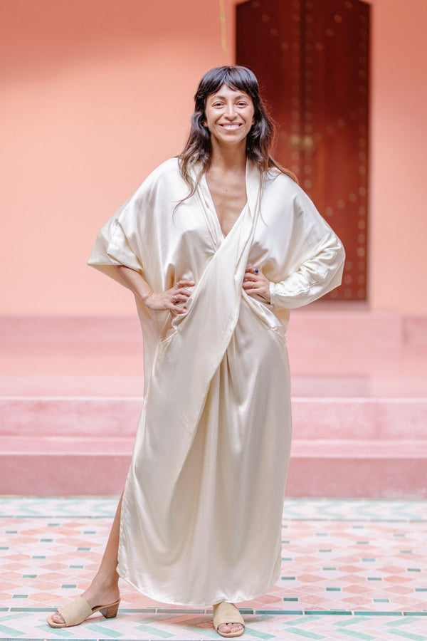 Amma Gown (Silk/Satin)