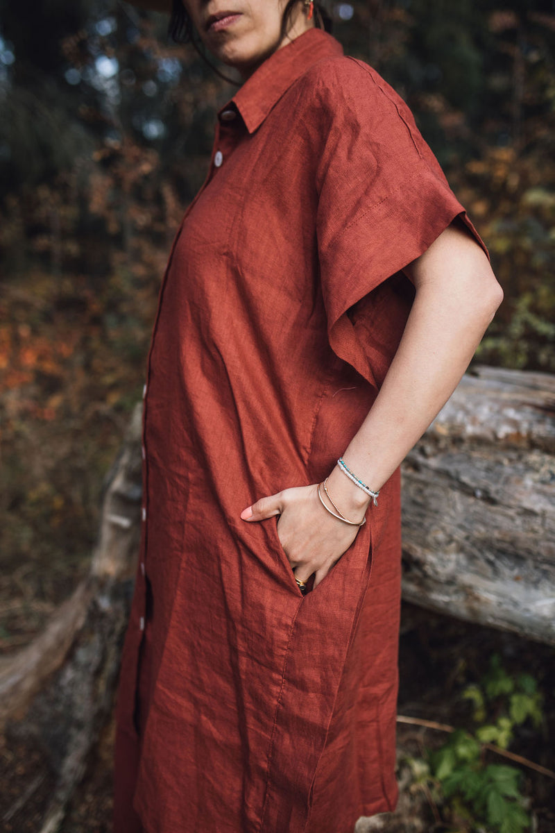 Kundalini Kaftan (100% Linen, Limited Edition, Fall)