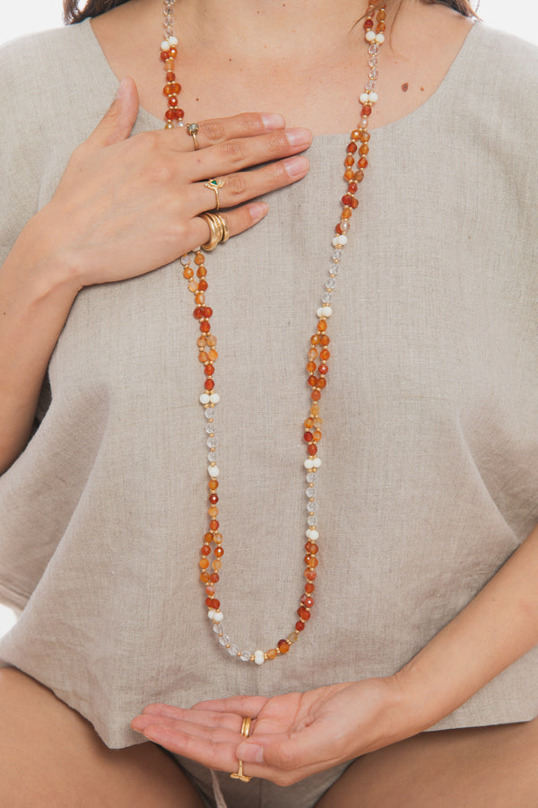 Creativity, Healing, Power and Abundance Tantric Mala