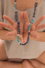 Aquarian, Communication and Harmony Power Tantric Mala