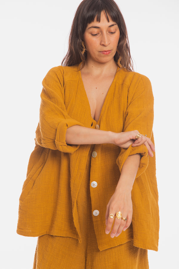 Soleil Golden Chain Romper & Jacket Set