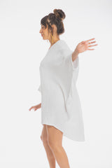 Butterfly Tunic (100% Cotton, White)