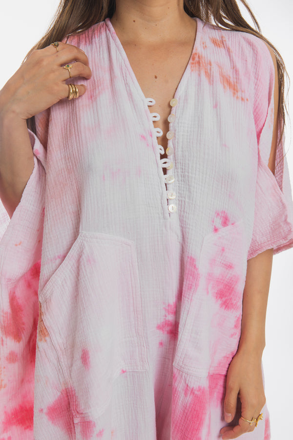 Pink Sky Miracle Playsuit