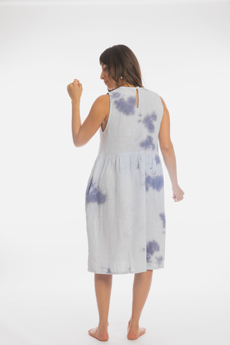 Indigo Bloom Gown (Last Call, only 1 in stock)
