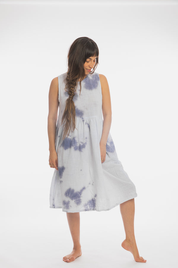 Indigo Bloom Gown (Limited Edition, ony 2 in stock)