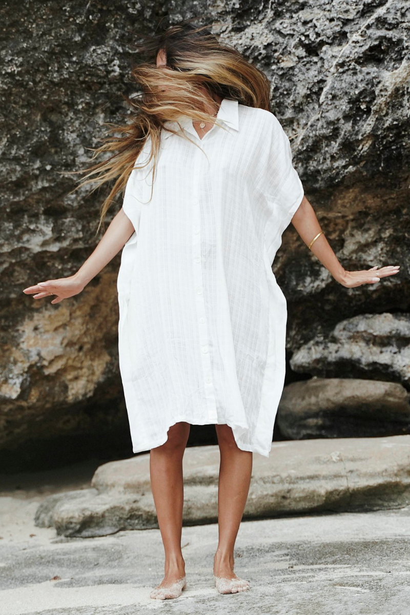 Kundalini Kaftan  (Square Cotton, Only 5 available)