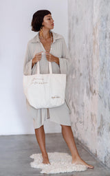 Tote Bag Moving Into Grace