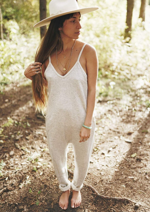 Luminous Playsuit (Light Grey)