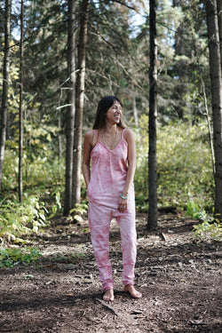 Pink Sky Luminous Playsuit - Clothes - Myrah Penaloza