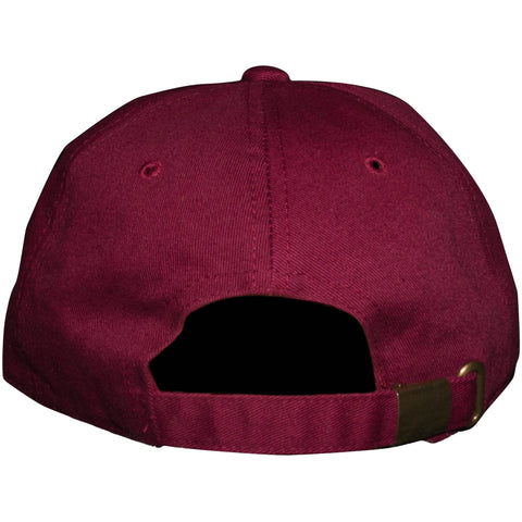 Tribus Loyalty Old English Hat - Burgundy