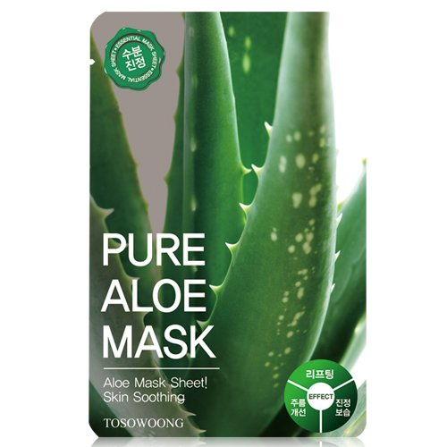 Pure Aloe Mask (Mascarilla facial aclarante y anti arrugas)