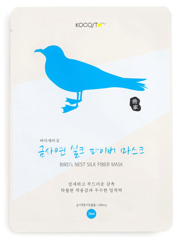 Bird's Nest Silk Fiber Mask