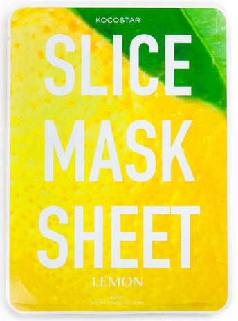 Slice Mask Sheet Lemon
