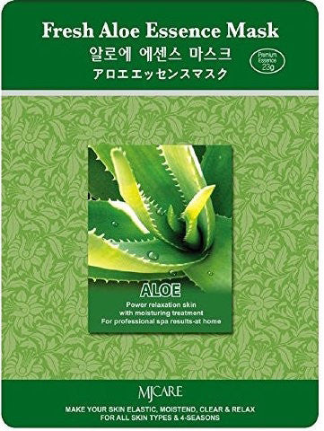 MJ Care Fresh Aloe Essence Mask