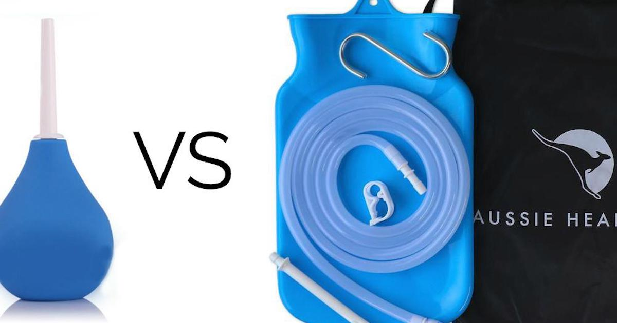 Enema vs. Douche: What's the Difference?