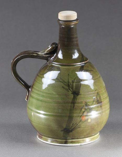 1-liter Bottle: Korean Celadon Bamboo Pattern