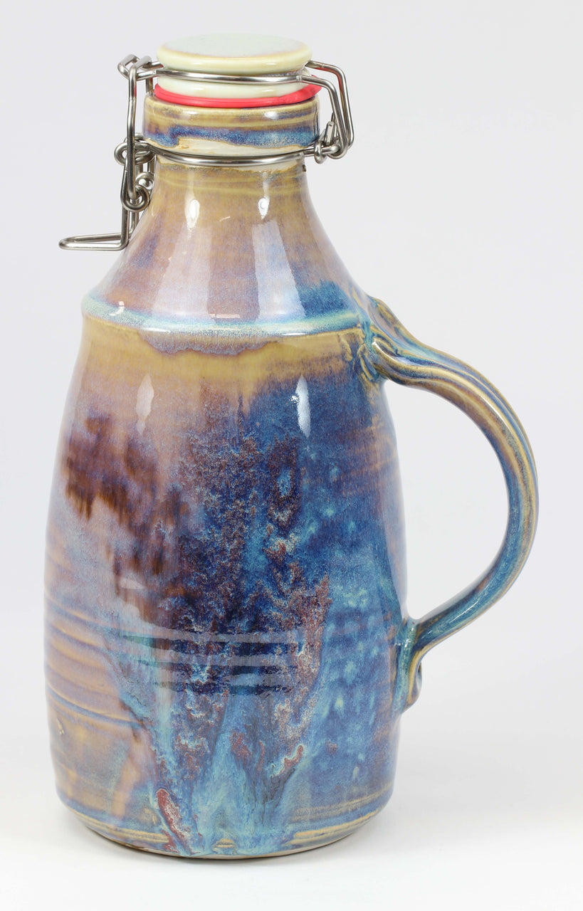 2-liter Growler: Abalone Fern Pattern
