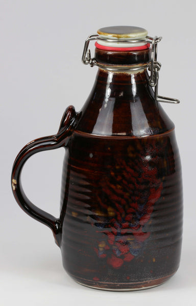 2-liter Growler: Temoku Fern Pattern