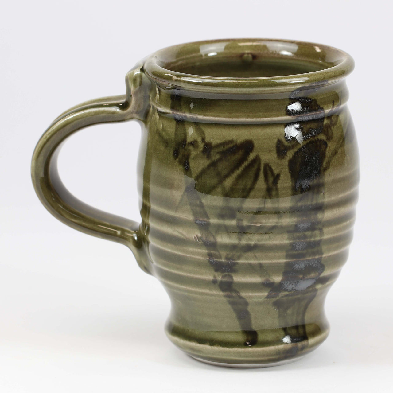 Large 16 oz. Mug: Korean Celadon Bamboo Pattern