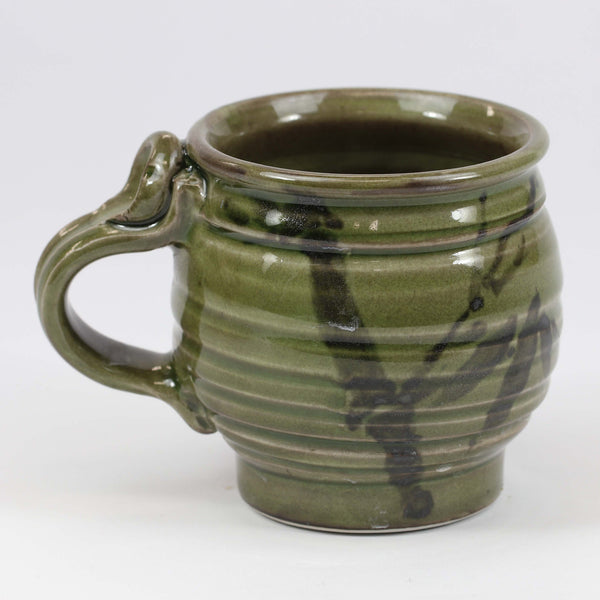 Small 11 oz. Mug: Korean Celadon Bamboo Pattern