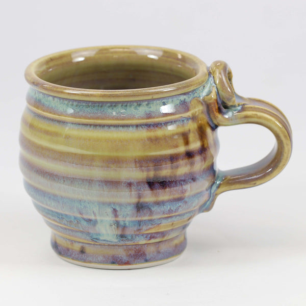 Small 11 oz. Mug: Abalone Fern Pattern